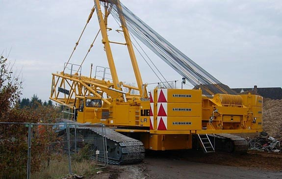 Liebherr LR1350-1 / sn 074129